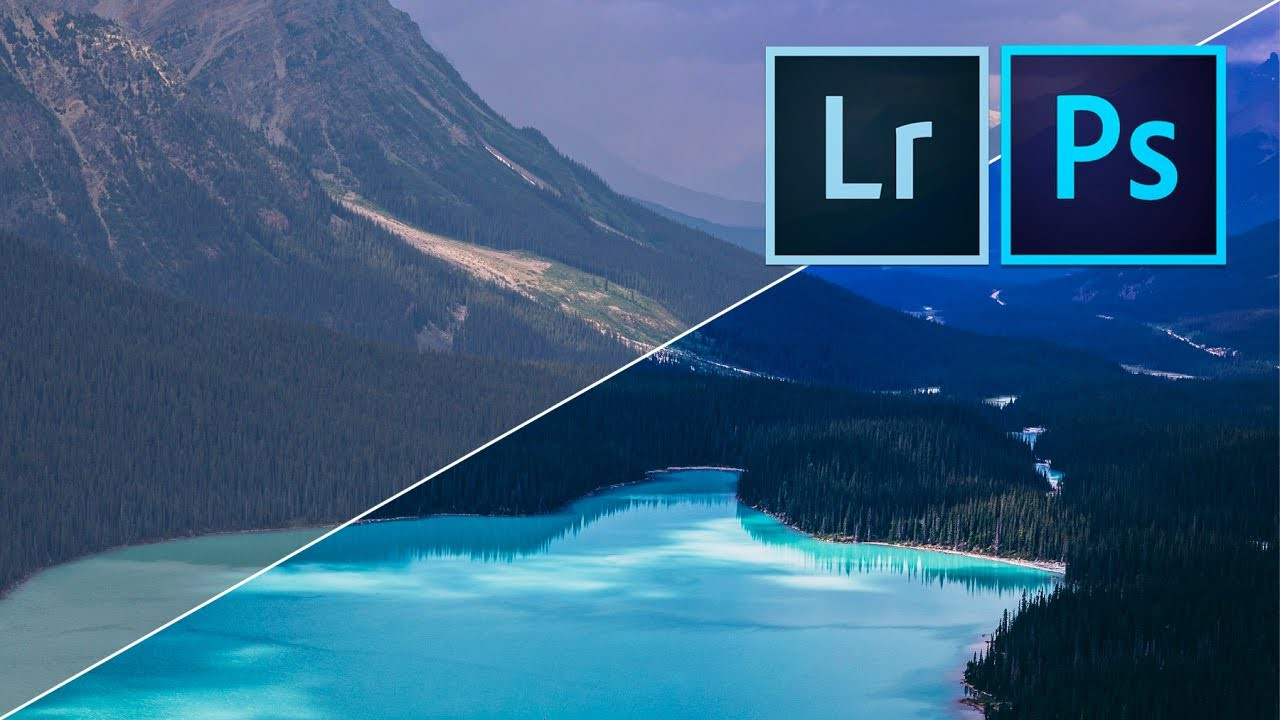 How to edit AMAZING LANDSCAPE PHOTOS with Adobe Lightroom