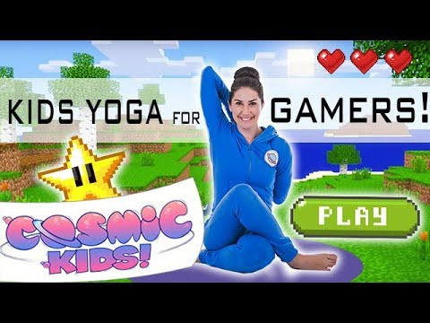 Kids Yoga For Gamers Cosmic Kids Yoga