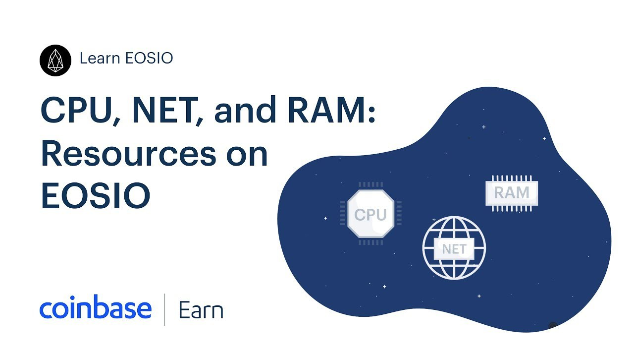 Coinbase Earn: CPU, NET, and RAM: Resources on EOSIO (Lesson 4 of 5) |  Coinbase