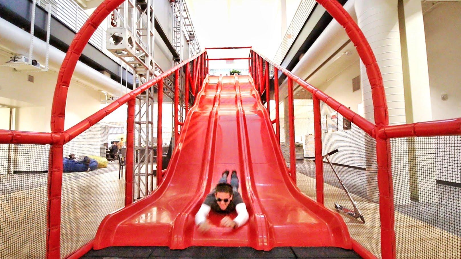 insane office slide