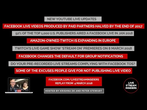 Live StreamNews Week Commencing 4 March 2018 | AlphaVoice