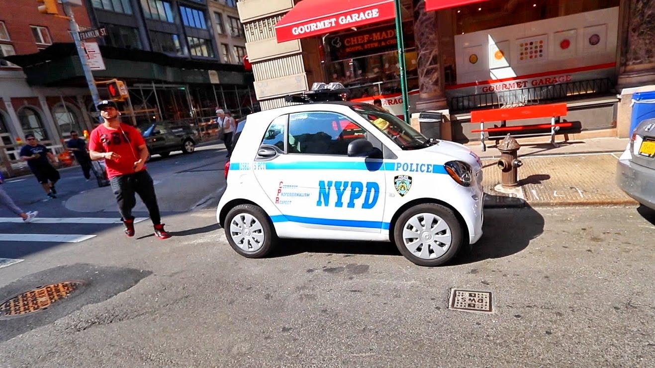 world s silliest cop car